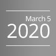 March 5, 2020