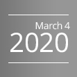 March 4, 2020